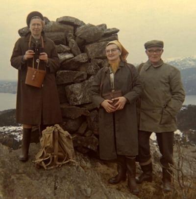 Margit Tveit, Klara og Nils Sortland