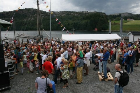 - Konsert med Storm weather shanty choir