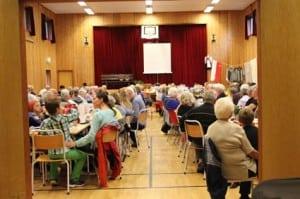 Over 160 frammøtte tok MANGE lodd på Vyborgbasaren for 2 år sidan