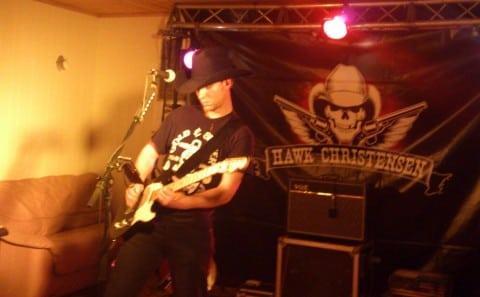 Hawk Christensen spelte fil dans på smalahåvefesten