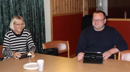 Nils Tore Økland leia møtet, dei tre andre frå AP sin programkomitè var Andreas Moe Larsen, Gro Bommen og Kathrine indrevold