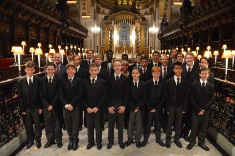 Byron Consort at St Paul's Cathedral