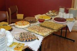 Nydelege kaker - som alltid på Huglo