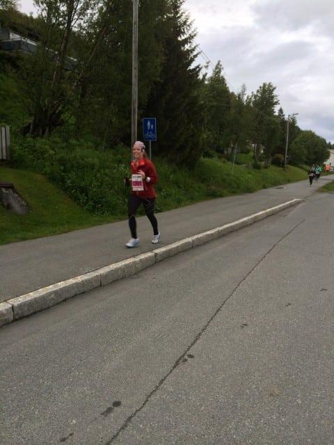 Linda etter 11 km