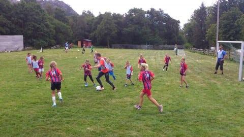 Frå Fotballskulen 2014